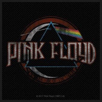 kleiner Aufnäher Pink Floyd Distressed Dark Side of the Moon