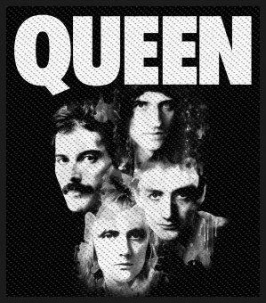 kleiner Aufnäher Queen Faces