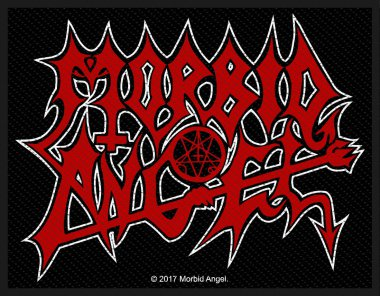 kleiner Aufnäher Morbid Angel Red Logo