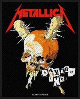 kleiner Aufnäher Metallica Damage Inc.