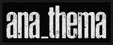 kleiner Aufnäher Anathema Logo