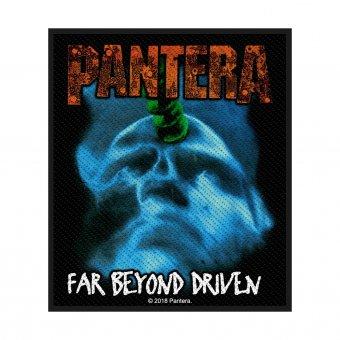 kleiner Aufnäher Pantera Far beyond Driven