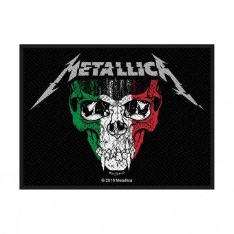 kleiner Aufnäher Metallica Italy