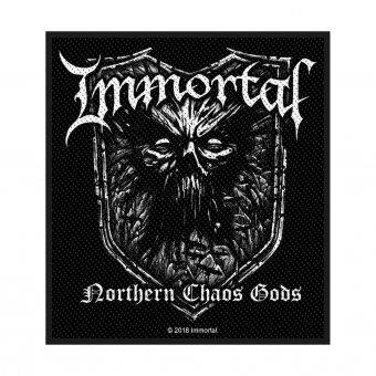 kleiner Aufnäher Immortal Northern Chaos Gods