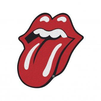 kleiner Aufnäher Rolling Stones Tongue