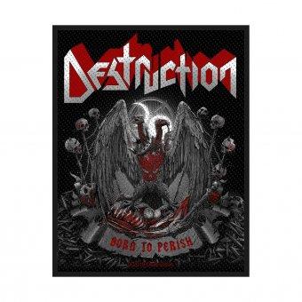 kleiner Aufnäher Destruction Born to Perish