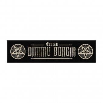 kleiner Aufnäher Dimmu Borgir Eonian Logo Stripe