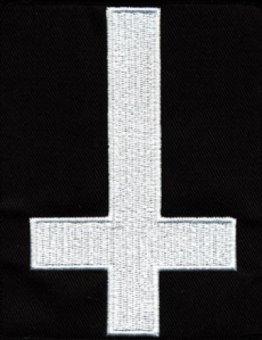 kleiner Aufnäher Symbole Inverted Cross