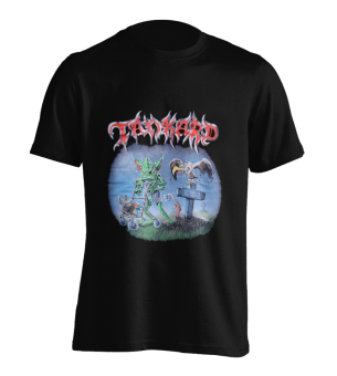 T-Shirt Tankard One Foot in the Grave XL