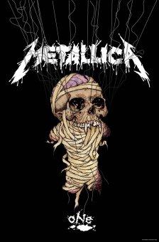 Flagge Metallica One