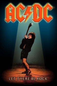 Flagge AC/DC Let there be Rock