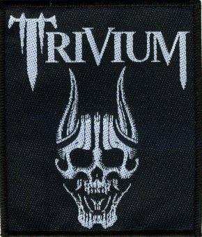 kleiner Aufnäher Trivium Skull