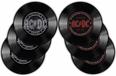 Untersetzer Set 6 teilig AC/DC Logo