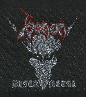 kleiner Aufnäher Venom Black Metal
