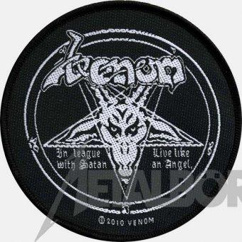 kleiner Aufnäher Venom In League with Satan
