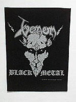 Rückenaufnäher Venom Black Metal
