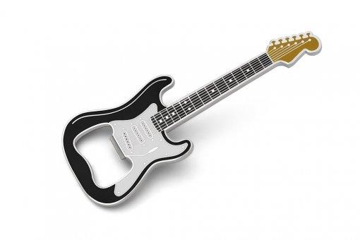 Flaschenöffner Gitarre Classic schwarz