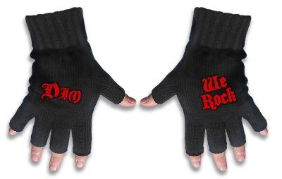 Handschuhe Dio Logo / We Rock