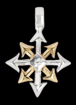 Kette Chaos Star Bronze