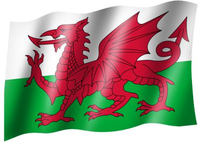 Flagge Country Flag Wales