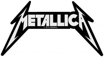 kleiner Aufnäher Metallica Logo Shape