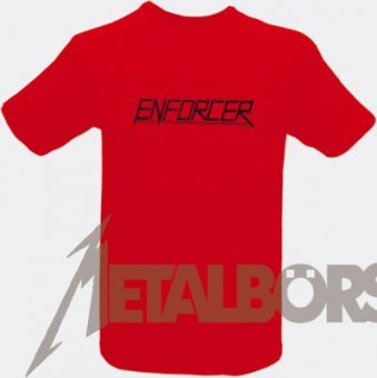 T-Shirt Enforcer Logo ( red )