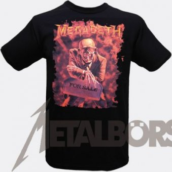 T-Shirt Megadeth Peace sells.....