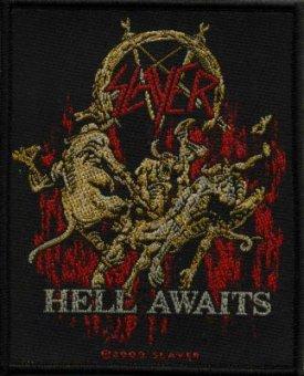 kleiner Aufnäher Slayer Hell awaits