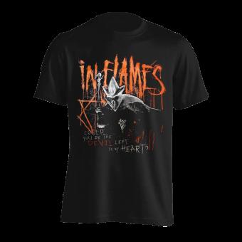 T-Shirt In Flames Devil left in my Heart