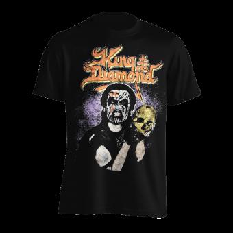 T-Shirt King Diamond Portrait