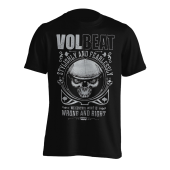 T-Shirt Volbeat Wrong and Right
