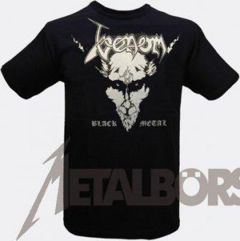 T-Shirt Venom Black Metal L