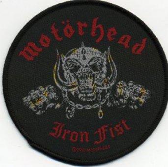 kleiner Aufnäher Motörhead Iron Fist