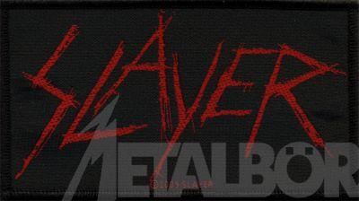Kleiner Aufnäher Slayer Logo