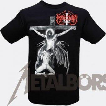 T-Shirt Marduk Christraping Black Metal XL