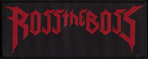 kleiner Aufnäher Ross the Boss Logo