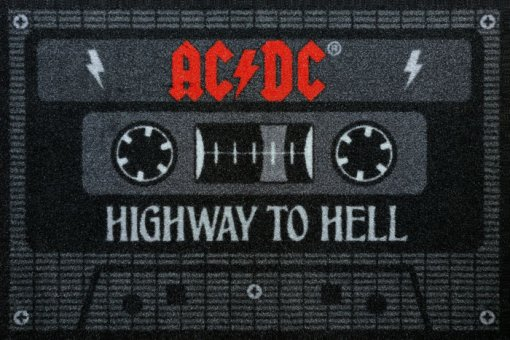 Fußmatte AC/DC Highway to Hell Tape