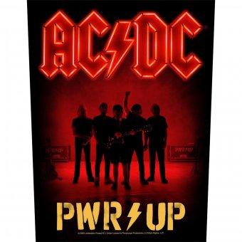 Rückenaufnäher AC/DC Power up Band