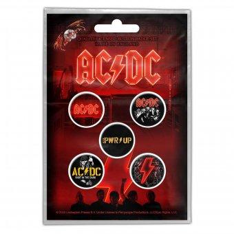 Button Set AC/DC Power up