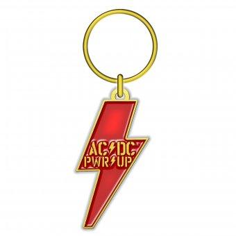 Schlüsselanhänger AC/DC Power up Bolt