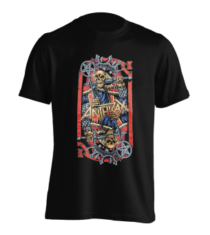 T-Shirt Anthrax Evil King L