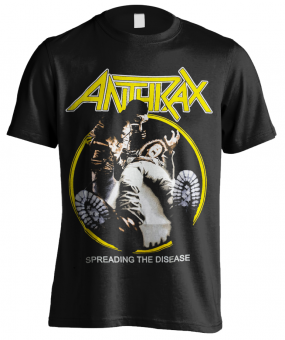 T-Shirt Anthrax Spreading the Desease