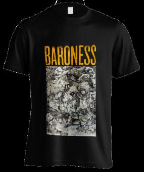 T-Shirt Baroness Gold & Grey