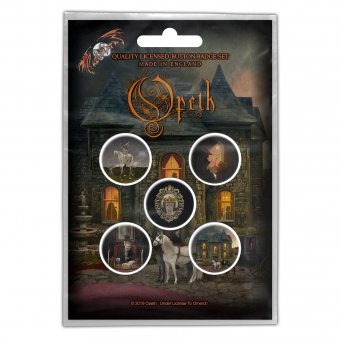 Button Set Opeth Artworks