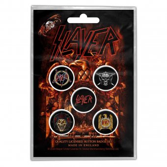 Button Set Slayer Eagle