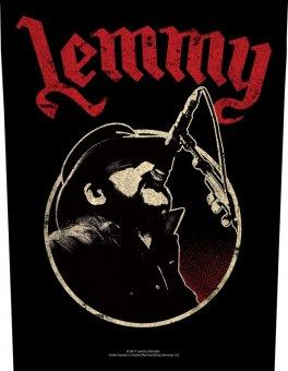 Rückenaufnäher Motörhead Lemmy Red Logo
