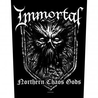 Rückenaufnäher Immortal Northern Chaos Gods