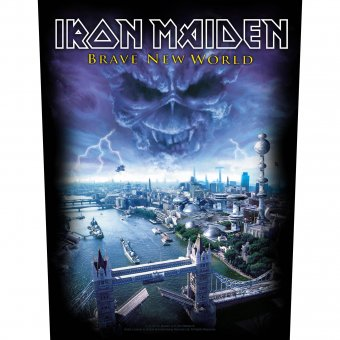 Rückenaufnäher Iron Maiden Brave New World