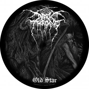 Rückenaufnäher Dark Throne Old Star