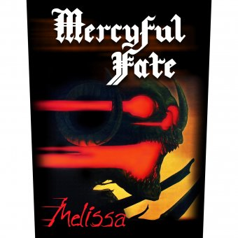 Rückenaufnäher Mercyful Fate Melissa